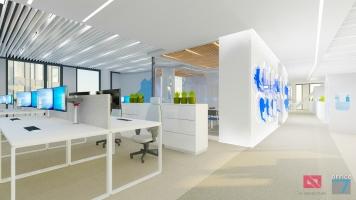 thales interior office design